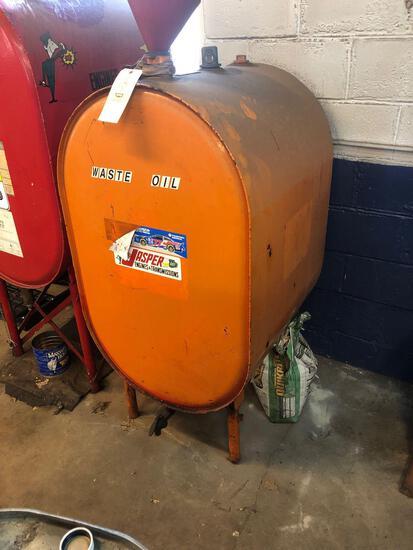 Waste oil bulk tank