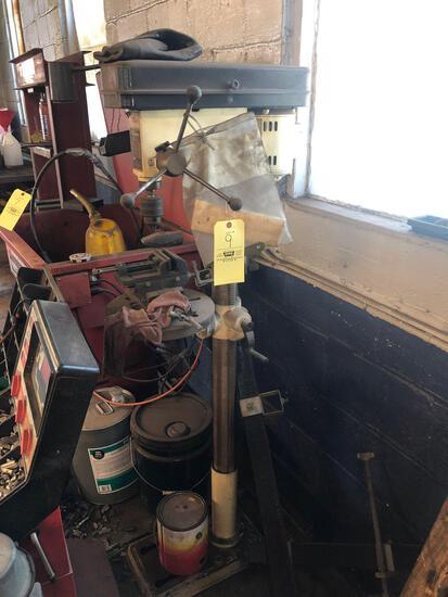 Power Craft floor-model drill press