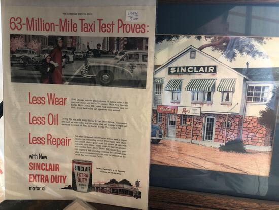 Sinclair paper advertising.