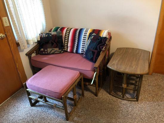 6-pc. bamboo-style furniture set
