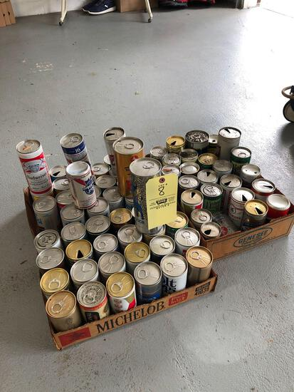 Early beer can collection