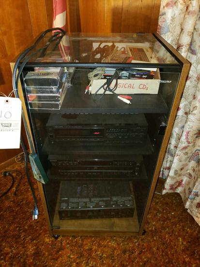 Sounds System and Cabinet, Speakers