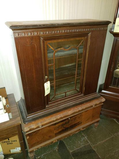 Glass Front Cabinet, Blanket Chest