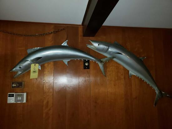 Pair of Mounted Barracuda