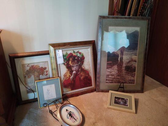 Assorted Framed Pictures