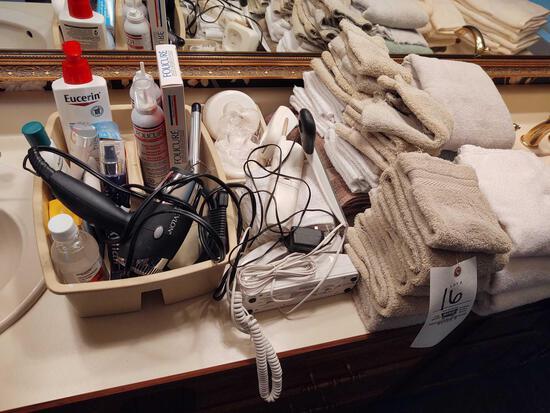 Towels & Beauty Items