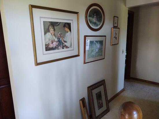 7 Framed Pictures