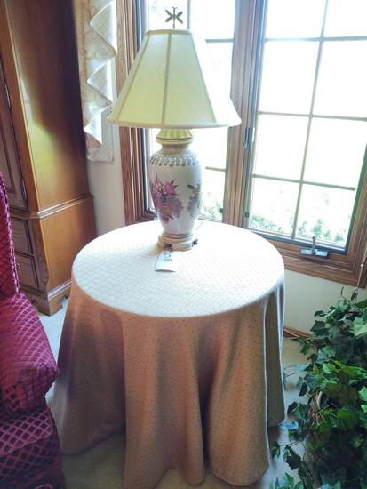 Table w/ Lamp