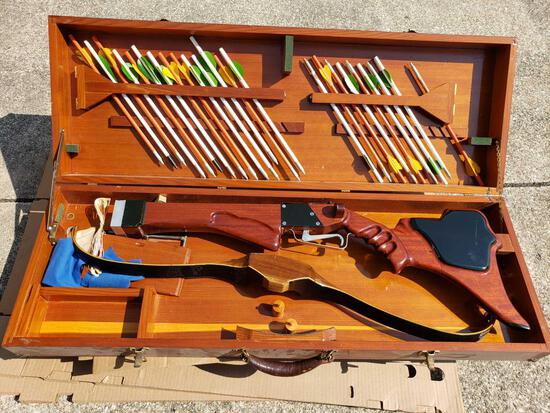 Wooden Crossbow with Case