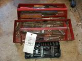 Assorted Tooling and Toolbox Trays