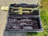 Trumpet with King Hard Case