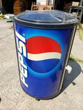 Rolling Pepsi Ice Cooler