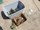 Penny Jar - Vintage Bottles