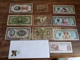 Foreign Paper Money - Disney Dollars - Food Coupon