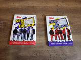 Unopened Topps New Kids on the Block Collector Cards