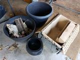 Plastic Planters - Storage Totes