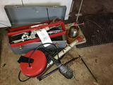 Assorted Tooling - Lights - Oiler - Toolbox