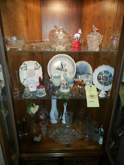 Signed Fenton Bell, Collector Plates, Vases