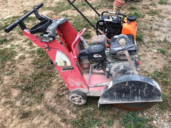 2010 Husqvarna FS400LV Wet Concrete Saw