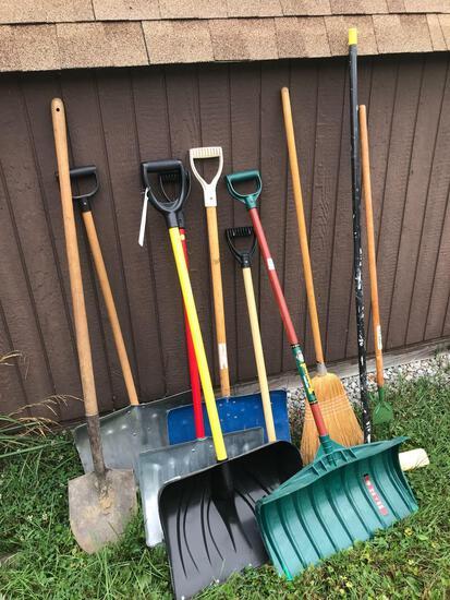 Shovels - brooms