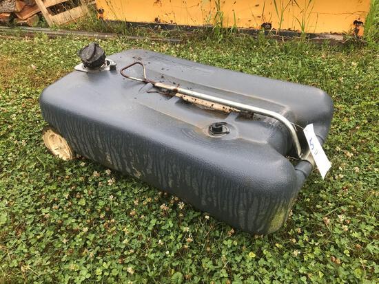 Smart tote 27-gallon portable waste tank