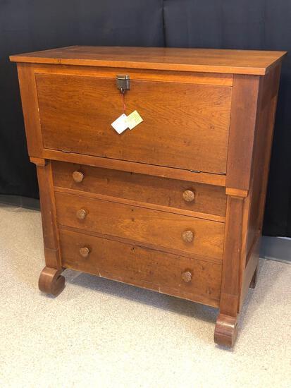 Early Walnut Butler's Desk