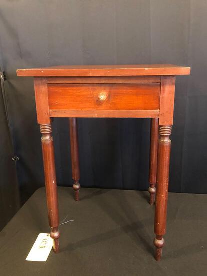Cherry One-Drawer Nightstand