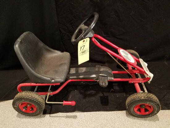 Kettercar pedal car