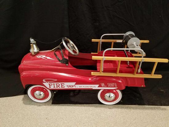 Fire dept. pedal car Jet Flow Drive N. 287