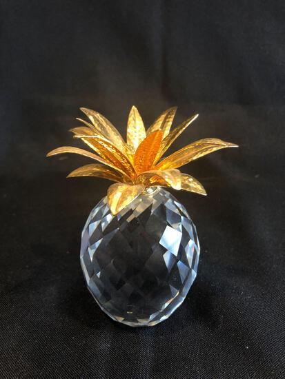 Swarovski Silver Crystal Pineapple