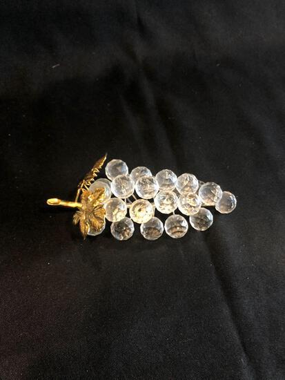 Swarovski Silver Crystal Grapes