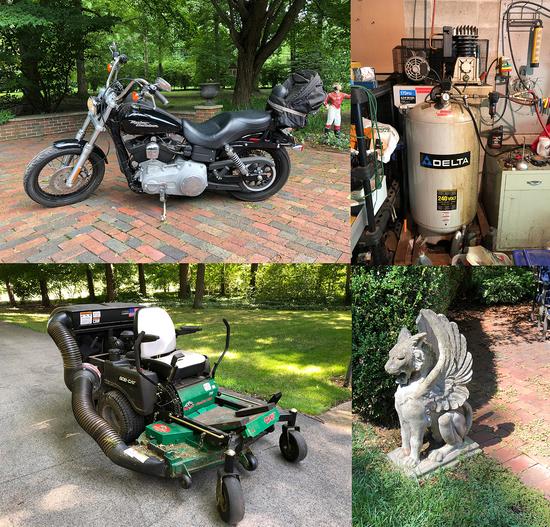 Harley Davidson - Mower - Tools - 16223 - Colton