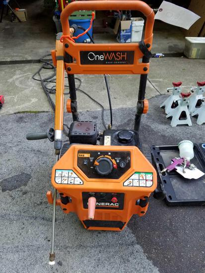 Generac OneWash gas pressure washer, 3000psi