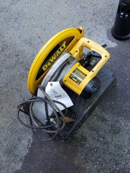 DeWalt 1 inch chop saw