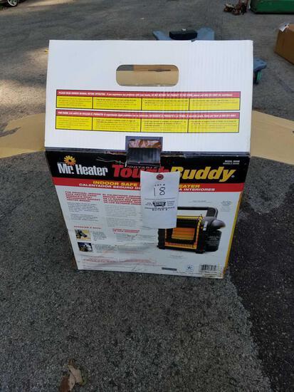 Mr. Heater ToughBuddy heater. Still in box
