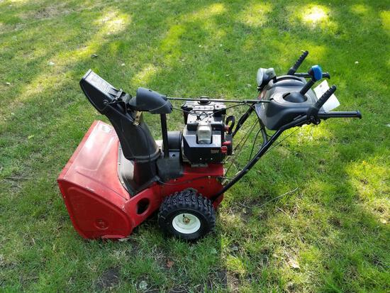 Toro Power Max 826LE snow blower with electric start