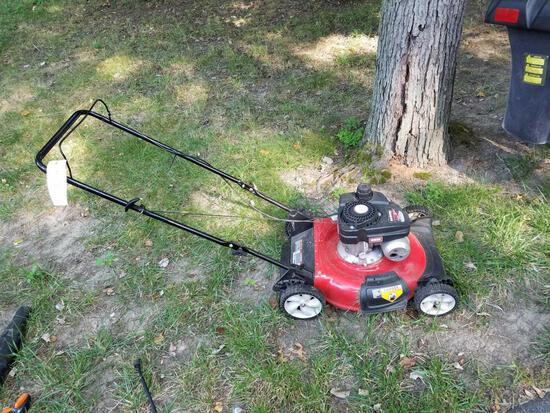 Yard Machine 21-inch 140cc push mower