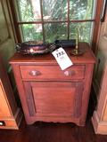 Early cabinet w/ contents