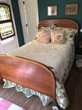 Standard Furniture full size bed, dresser w/ mirror