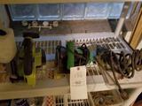 Ryobi cordless, drill, small saw