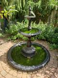Metal fountain