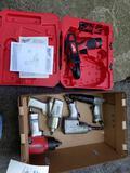 Milwaukee clamp gun 12V, air chisel, air impacts
