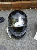 Bell size S helmet with shield