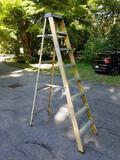 Keller fiberglass 8-ft. stepladder