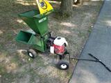 Mighty Mac chipper with Honda 5.5HP motor, flails