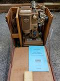 Ampro 16mm precision projector with case