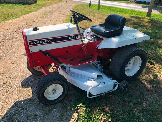"""Gravely 816S gear drive 52"""" deck"""