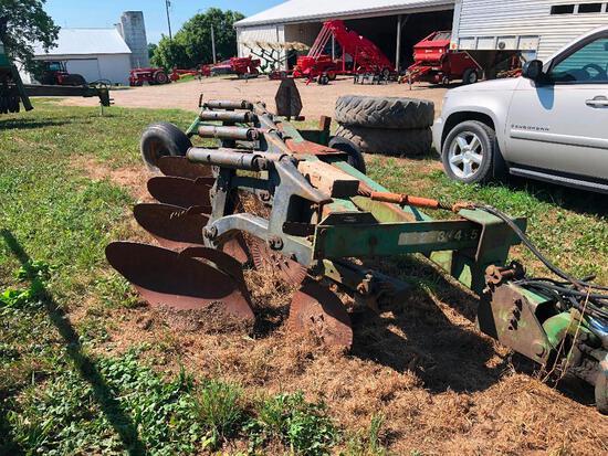 JD A2600 semi mt. adj 4 bottom auto reset plow