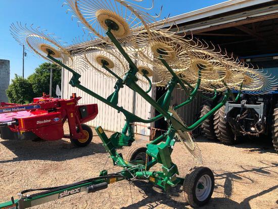 One owner like new Sitrex 10 wheel rake