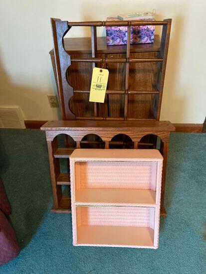 Cabinet and Shelves